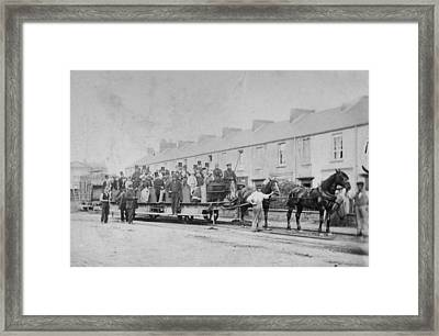 Mumbles Train Framed Print by Hulton Archive