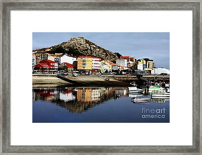Muxia Camino Reflections Framed Print