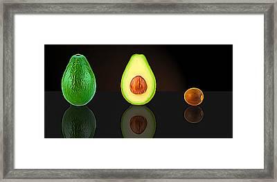 My Avocado Dream Framed Print