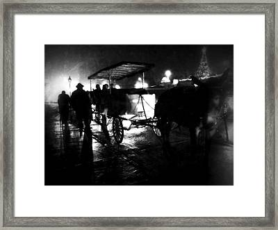 My Ride Framed Print