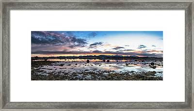 Myre Swapm Walkway On Vesteralen Norway Framed Print