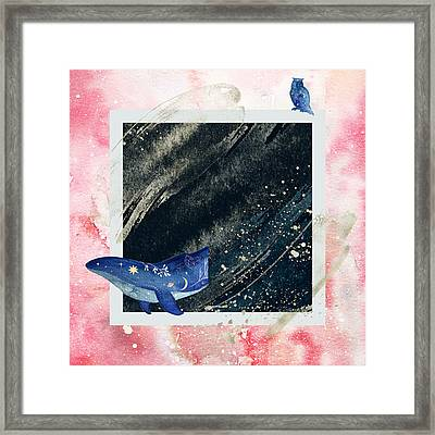 Framed Print featuring the digital art Mystic Voyage by Bee-Bee Deigner