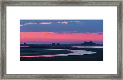 Framed Print featuring the photograph Mystical River by Davor Zerjav