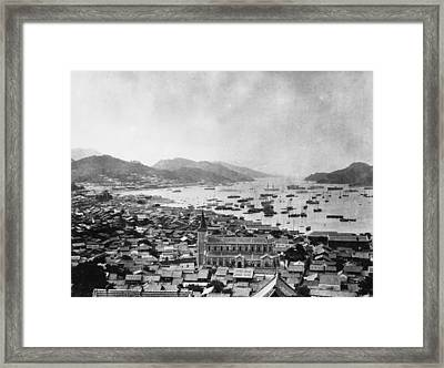 Nagasaki Harbour Framed Print by Topical Press Agency