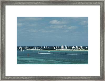 Nassau Sailing Framed Print