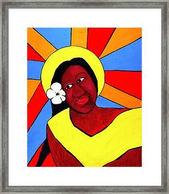 Native Queen Framed Print