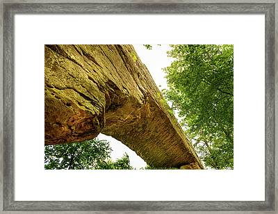 Natural Bridge 4 Framed Print