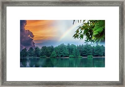 Natural Composites Framed Print