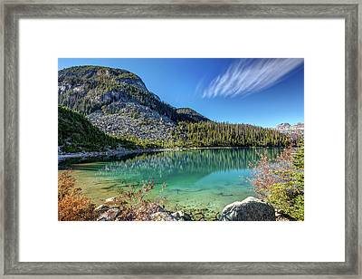 Framed Print featuring the photograph Natural Splendor Of The Joffre Lakes by Pierre Leclerc Photography