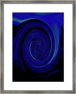 Nautilus II - Reverse Framed Print