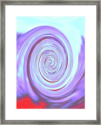 Nautilus Iv - Reverse Framed Print