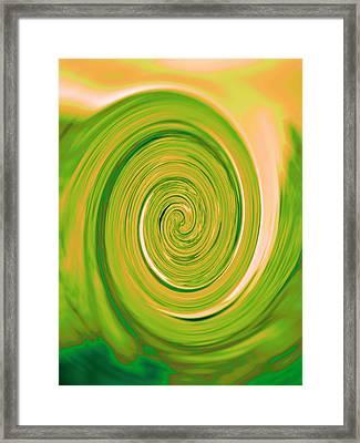 Nautilus V - Reverse Framed Print