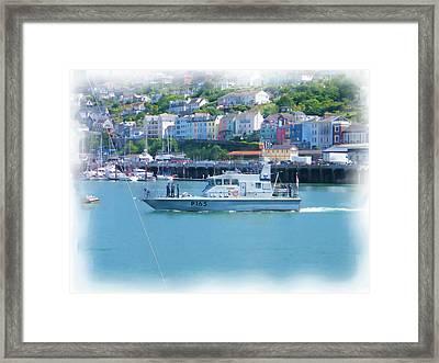 Naval Vessel Framed Print