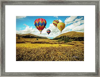 Navigating Guanella Pass Framed Print