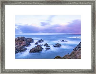 Nd Filter Long Exposure Framed Print