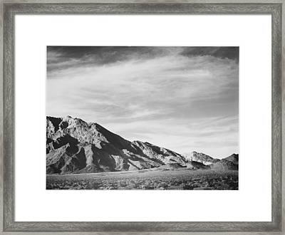 Near Death Valley Framed Print