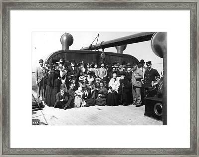 Near Queenstown Framed Print by Henry Guttmann Collection