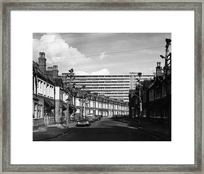 New Housing Framed Print by Stacey
