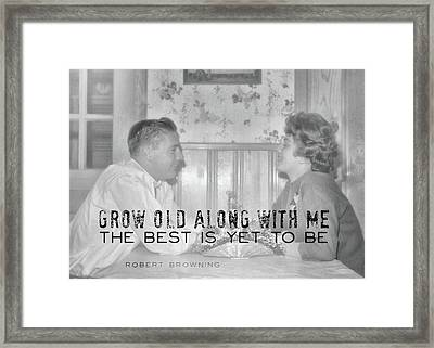 New Love Quote Framed Print by JAMART Photography