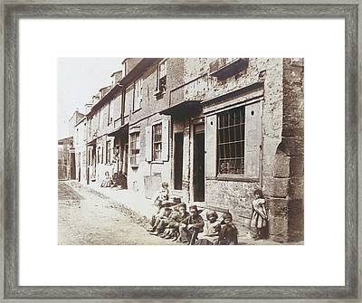 New Street Framed Print by Hulton Archive