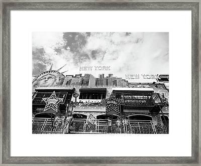 New York, New York Framed Print