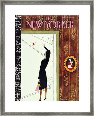 New Yorker September 14th, 1946 Framed Print by Christina Malman