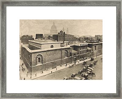 Newgate Prison Framed Print by General Photographic Agency