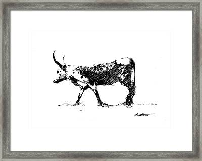 Nguni 01 Framed Print