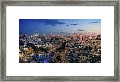 Framed Print featuring the photograph Night And Day by Stewart Marsden