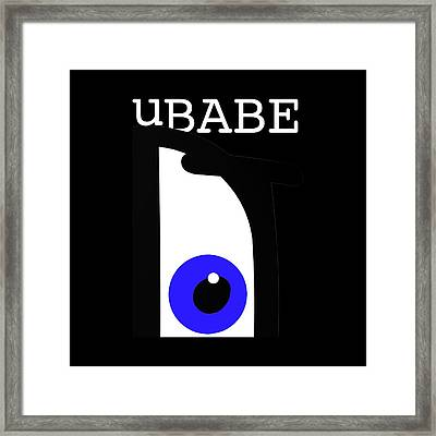Night Of The Babe Framed Print