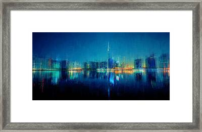 Night Of The City Framed Print