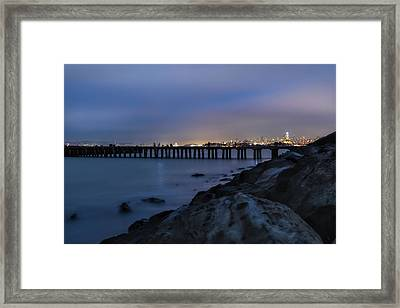 Night Pier- Framed Print