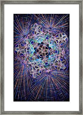 Night Star Framed Print