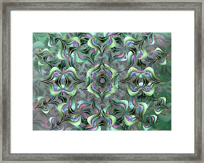 Nimb Difficult Remix One Framed Print
