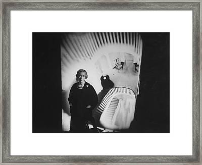 Nina Leen Framed Print by Gordon Parks