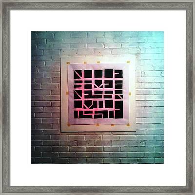 Nine - Wall Framed Print