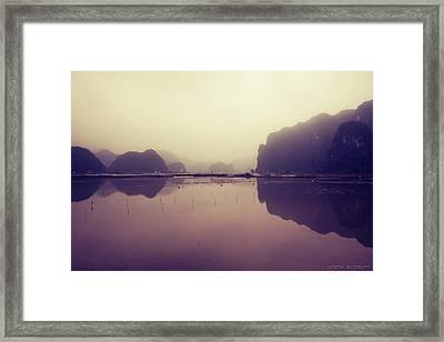 Ninh Binh Framed Print