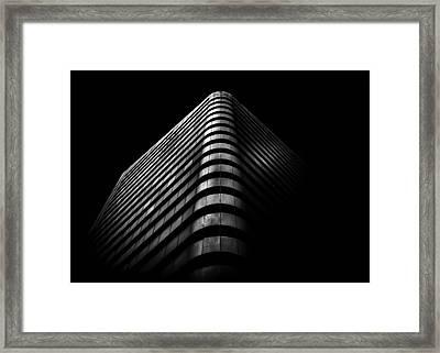 Framed Print featuring the photograph No 1 Dundas St W Toronto Canada 3 by Brian Carson