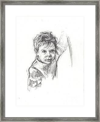 No. 1 Framed Print