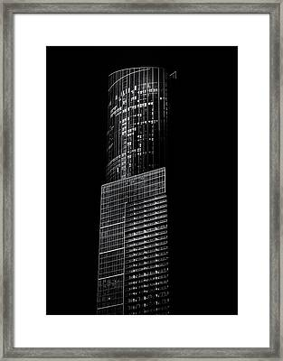 Framed Print featuring the photograph No 388 Yonge St Toronto Canada 1 by Brian Carson