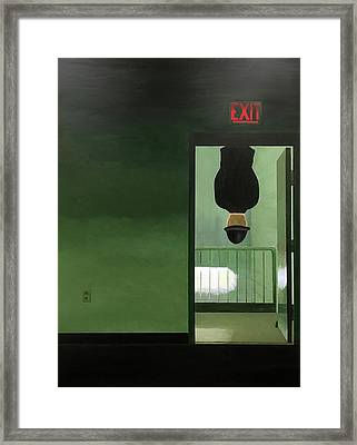 No Exit Framed Print