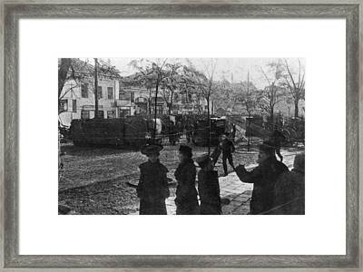 No-go Area Framed Print by Hulton Archive