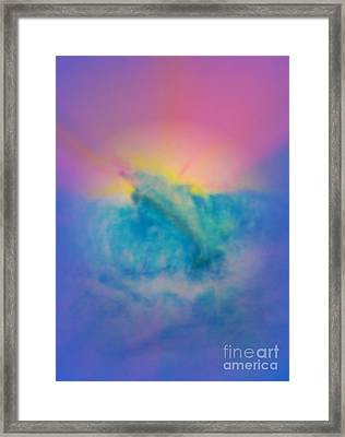 Framed Print featuring the mixed media No Limits by Sabine ShintaraRose