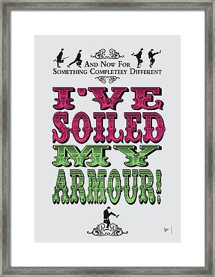 No03 My Silly Quote Poster Framed Print