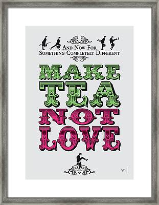 No16 My Silly Quote Poster Framed Print