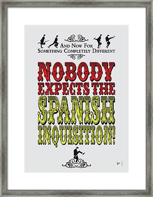 No17 My Silly Quote Poster Framed Print