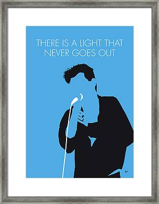 The Smiths 006 Framed Canvas Print
