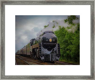 Norfolk And Western 611 Framed Print