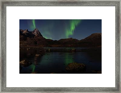 Norlys Framed Print