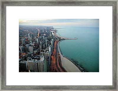 North Lake Shore Drive Framed Print